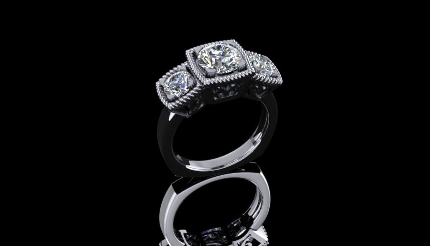 Custom Diamond Ring Jewelery
