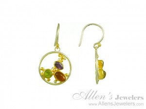 Michou-EarRings3Stones